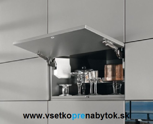 AVENTOS HK-S, TIP-ON - zdvíhací mechanizmus - slabý